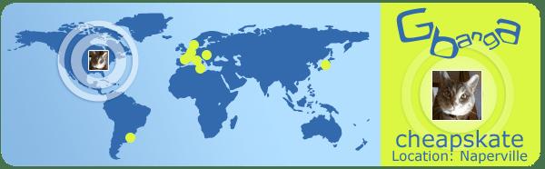 Around the World with Gbanga: Naperville, USA