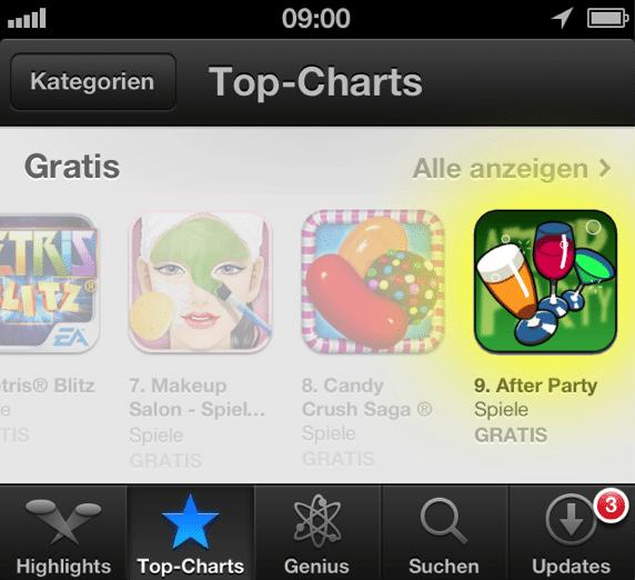 Spielend lernen mit der Spiele-App «After Party»