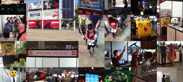 Gbanga game innovations at Tokyo Game Show