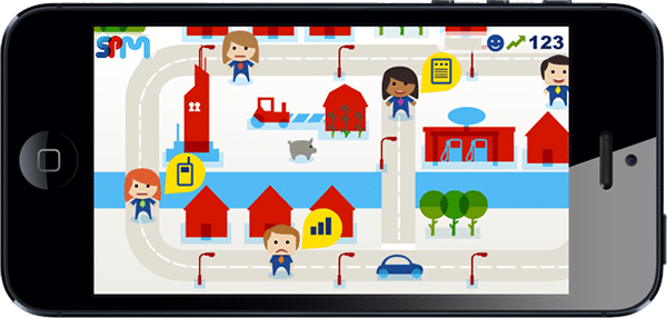 Super Fleet Manager - world on mobile