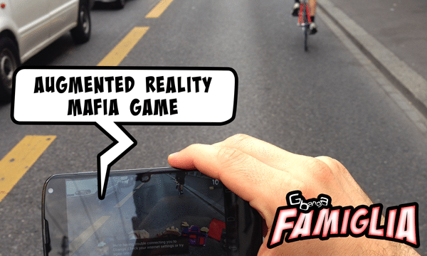 Gbanga Famiglia for Android with Augmented Reality feature