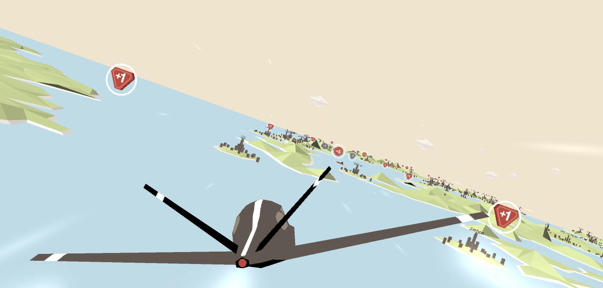 Quiz and Fly – ein Edutainment Spiel für die Schweizer Bank UBS