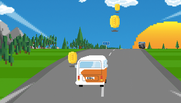 EBL On Tour HTML5 Race Game