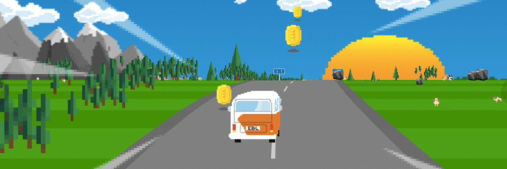 EBL On Tour – a race game for HTML5 browsers