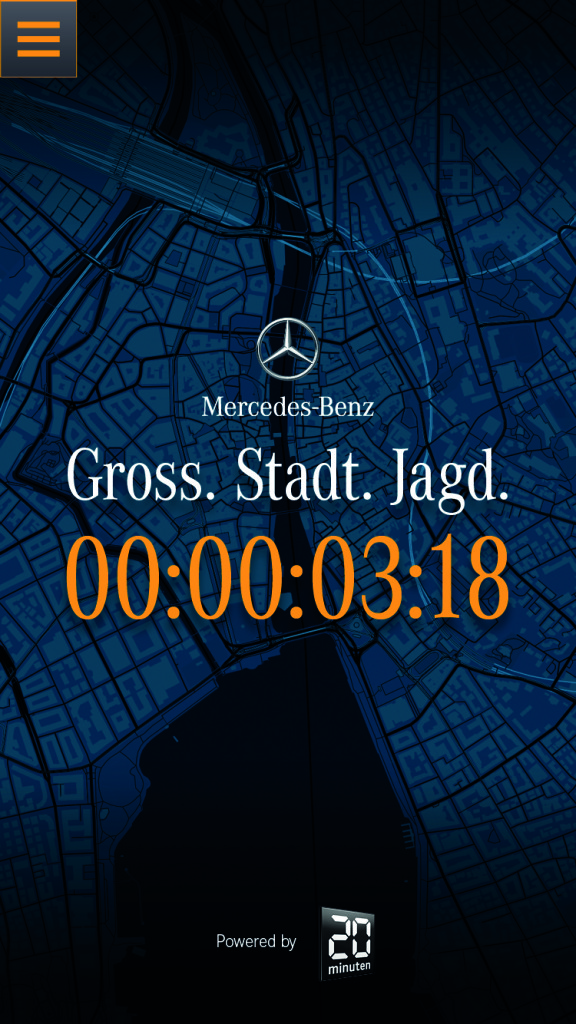 Countdown of Gross. Stadt. Jagd.