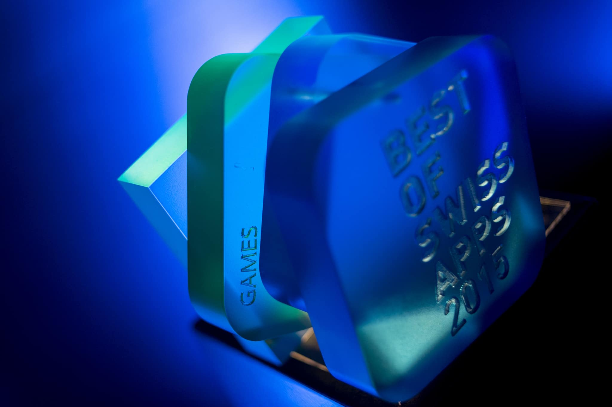 Best of Swiss Apps award medal