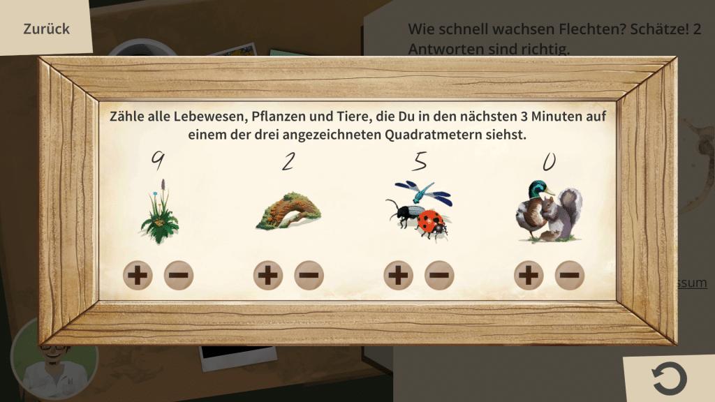 Biodiversity counter tool in «Basler StadtNatour»