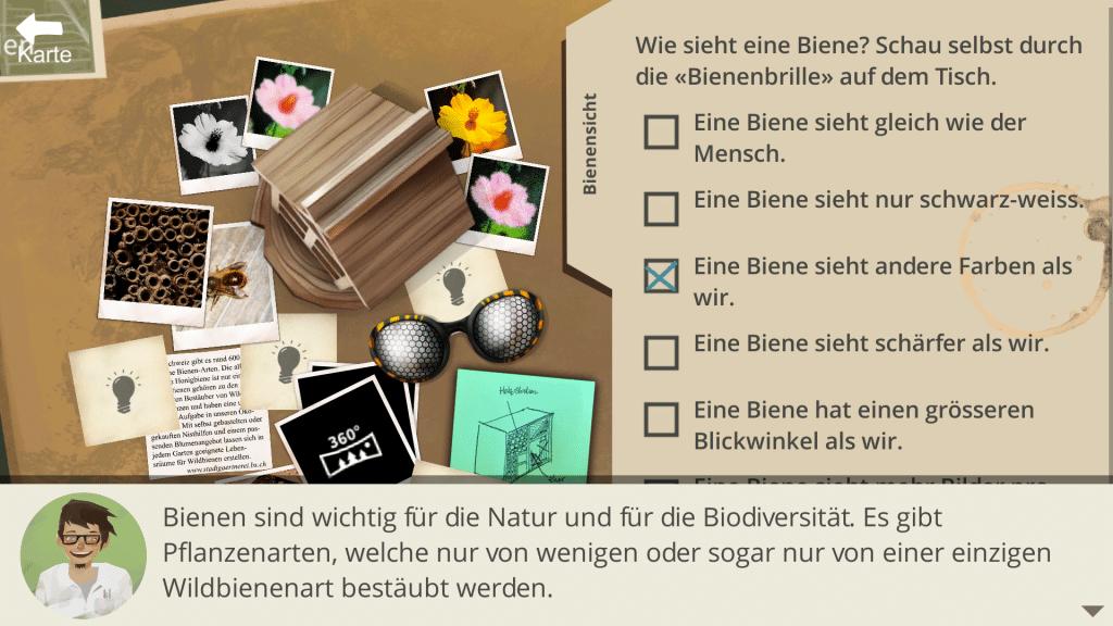 Quiz with hints in «Basler StadtNatour»