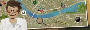 Basler StadtNatour, mixed-reality guided tour game app