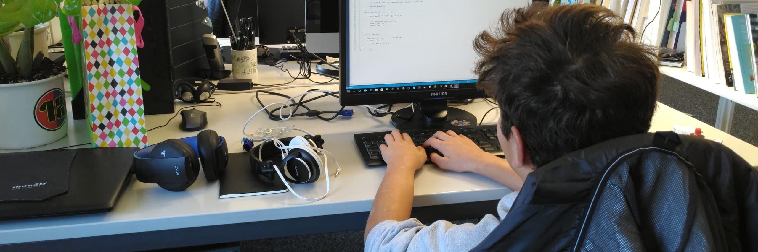 Loris' Blog – Schnupperwoche als Game Developer bei Gbanga