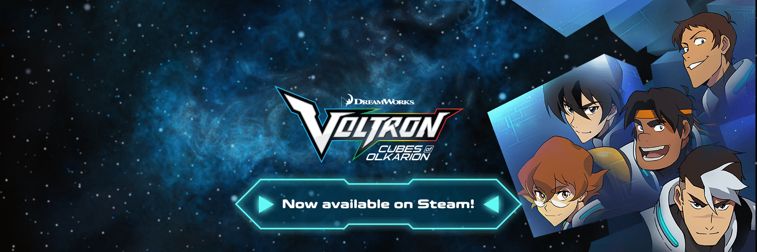 Go get our «brilliant» and «compelling» mulitplayer experience «Voltron: Cubes of Olkarion» now